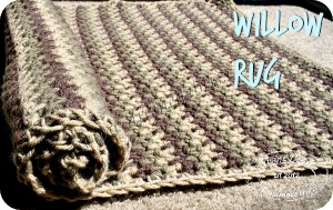Just a simple rug with no name.