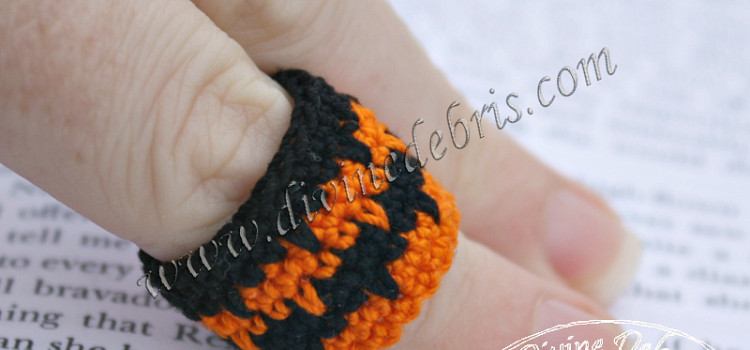 New project: crochet rings