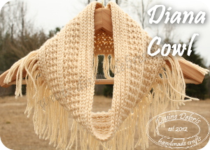 Diana Cowl Pattern by DivineDebris.com