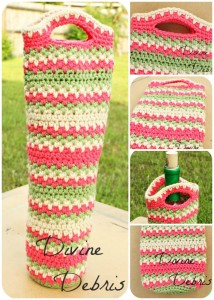 Willow Bottle Cozy Pattern by DivineDebris.com