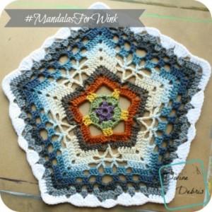 Free Mandala crochet pattern by DivineDebris.com