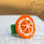 Orange Ring Pattern by DivineDebris.com