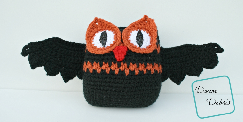 Willow Owl Bat Pattern by DivineDebris.com
