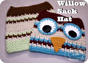 Catching up Wednesday: Willow Sack Hat Pattern