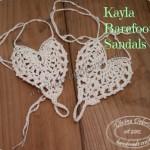 Kayla Barefoot Sandals by DivineDebris.com