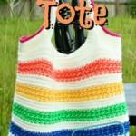 Diana Tote Bag pattern by DivineDebris.com