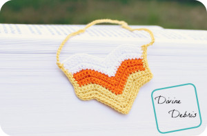 Chevron Necklace Pattern by DivineDebris.com