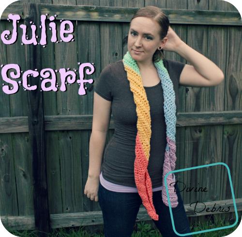 Julie Scarf Pattern by DivineDebris.com