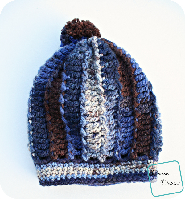Katie Hat Pattern by DivineDebris.com