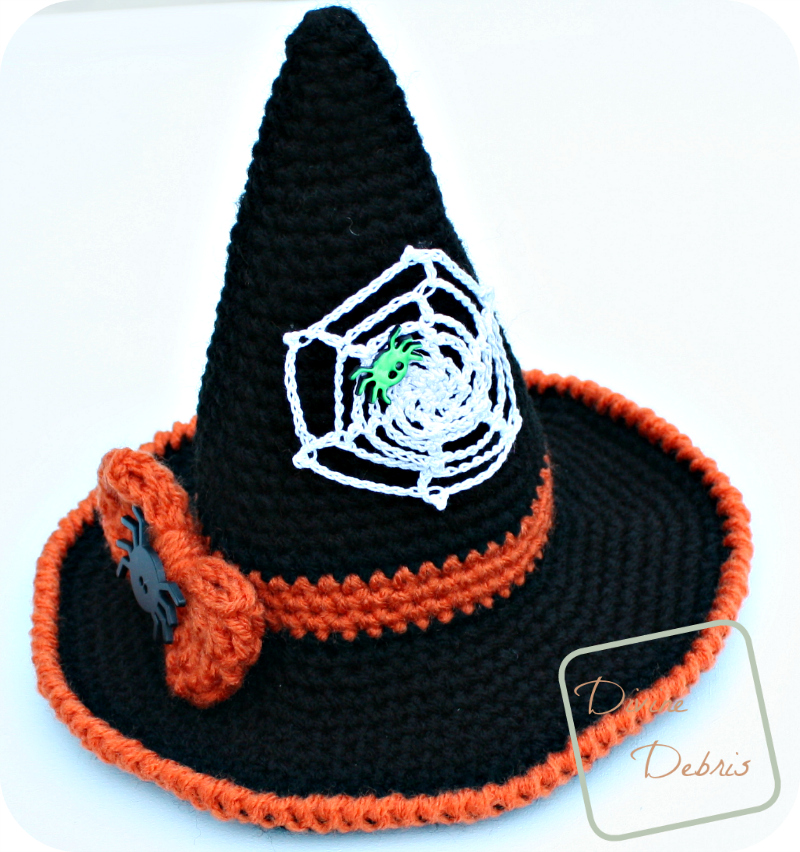 Witch Hat Free Pattern Magic Of Crochet