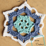 Snowflake Coasters Crochet Pattern by DivineDebris.com