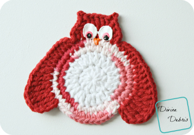 (free) Olga Owl crochet patterns by DivineDebris.com