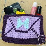 Envelope Clutch Purse crochet pattern by DivineDebris.com