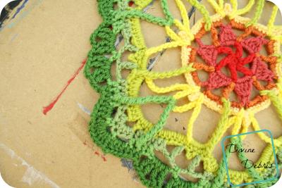 Blooming Mandala free crochet pattern by DivineDebris.com