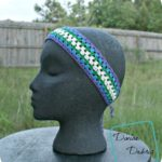 Carly Headband free crochet pattern by DivineDebris.com