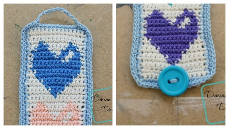 Heidi Bracelet free crochet pattern by DivineDebris.com