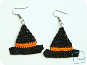 Witch Hats free crochet patterns by DivineDebris.com