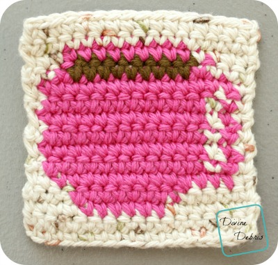 Coffee Cup Coaster free crochet pattern by DivineDebris.com