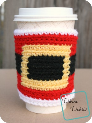 Santa Belly Mug Cozy