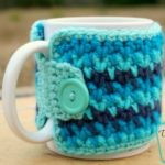 Willow Cup Cozy crochet pattern by DivineDebris.com