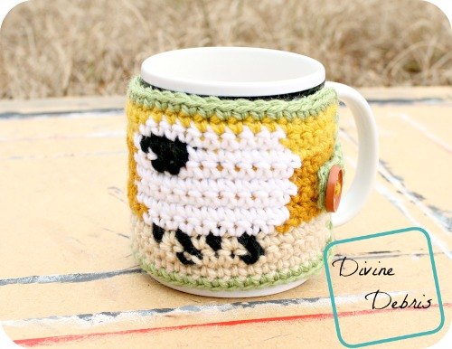 Dancing Sheep Mug Cozy