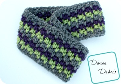 Free Willow Earwarmer crochet pattern by DivineDebris.com