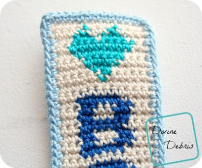 Books Bookmark Free Crochet Pattern
