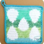 Egg Hot Pad free crochet pattern by DivineDebris.com