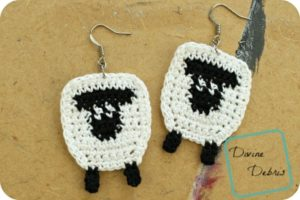 Dancing Sheep Duo crochet patterns by DivineDebris.com