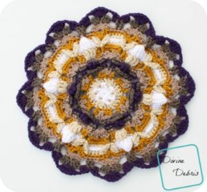 May Mandala crochet pattern by DivineDebris.com