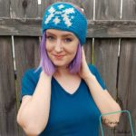 Snowflake Headband free crochet pattern by DivineDebris.com