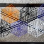 Spiderwebs Table Runner free crochet pattern by Divine Debris.com