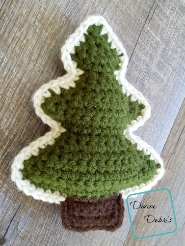 Squishy Tree Amis crochet patterns by DivineDebris.com
