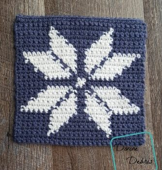 Tapestry Square Afghan Project – week 1