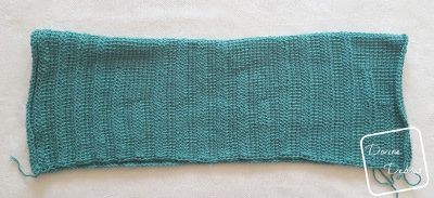 Tasha Tunisian Shrug crochet pattern by DivineDebris.com