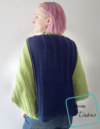 Tasha Traditional Shrug free crochet pattern by DivineDebris.com
