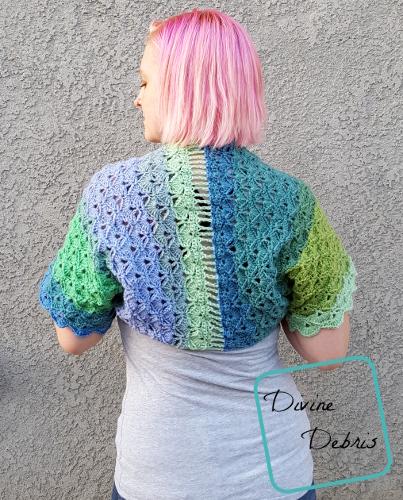 Janice Bolero crochet pattern by DivineDebris.com