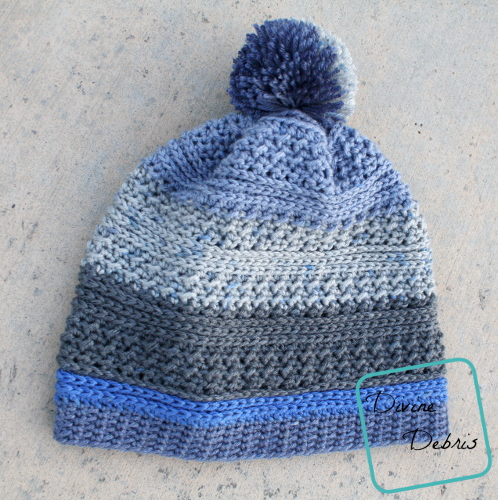 Diana Beanie free crochet pattern by DivineDebris.com