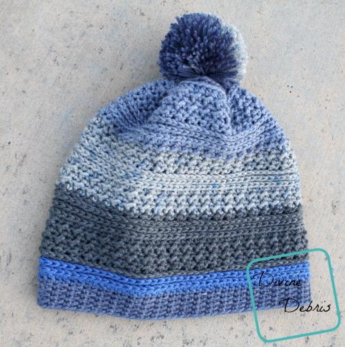 Diana Beanie free crochet pattern by DivineDebris.com