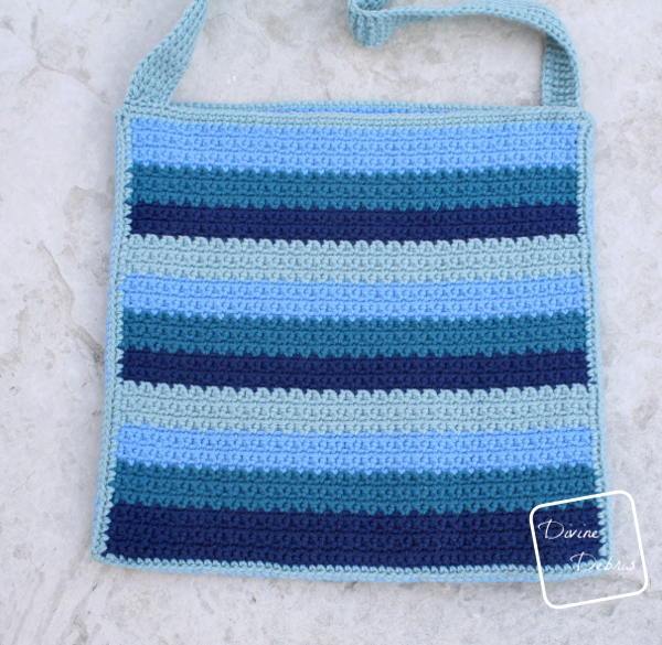 Be Nice Bag free crochet pattern by DivineDebris.com