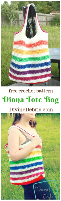 It's Finally Here! The Diana Tote Bag Pattern! |