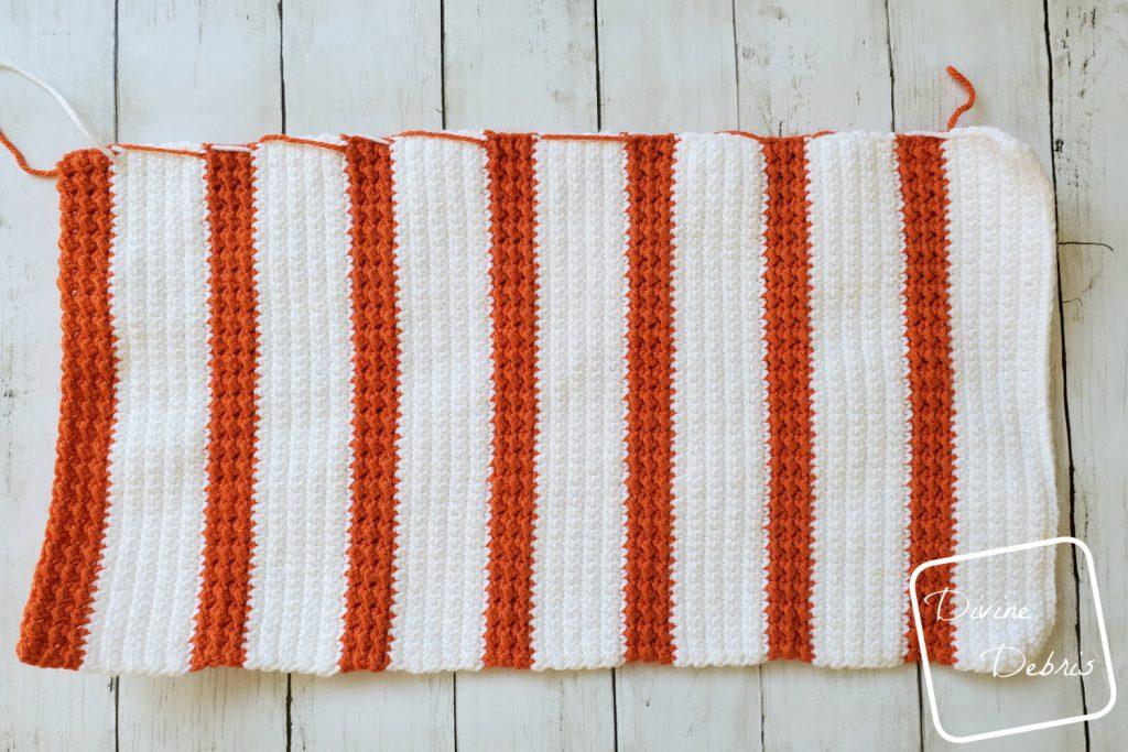 Simple Striped Pumpkin Amigurumi free crochet pattern by DivineDebris.com