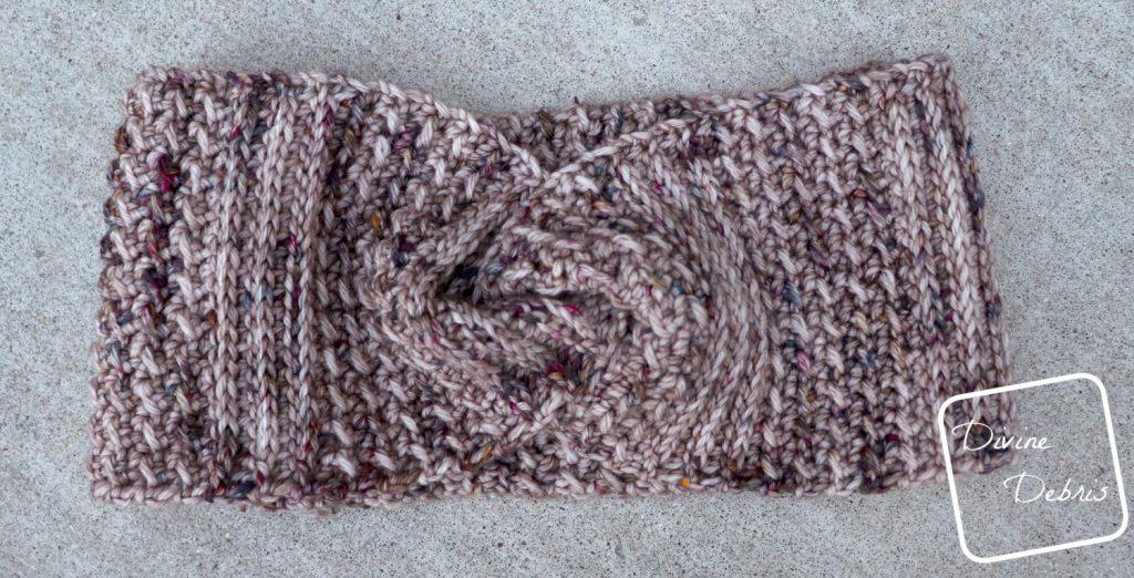 Artemis Headband free crochet pattern by DivineDebris.com