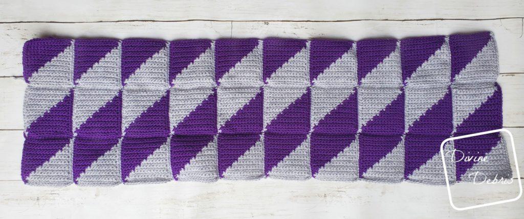 Divine Diamonds Bag free crochet pattern by DivineDebris.com